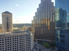 The view from the hotel!