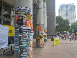 posters EVERYWHERE