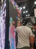 Interactive digital installation!