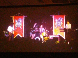 A really crazy band that played like...death metal Mario and Zelda music.
