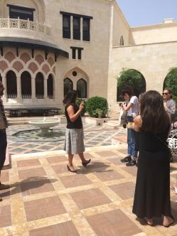Explaination of the Ismaili Center courtyard design