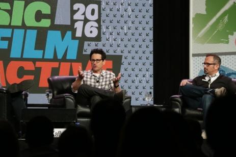 JJ Abrams, creatore of Bad Robot television studio
